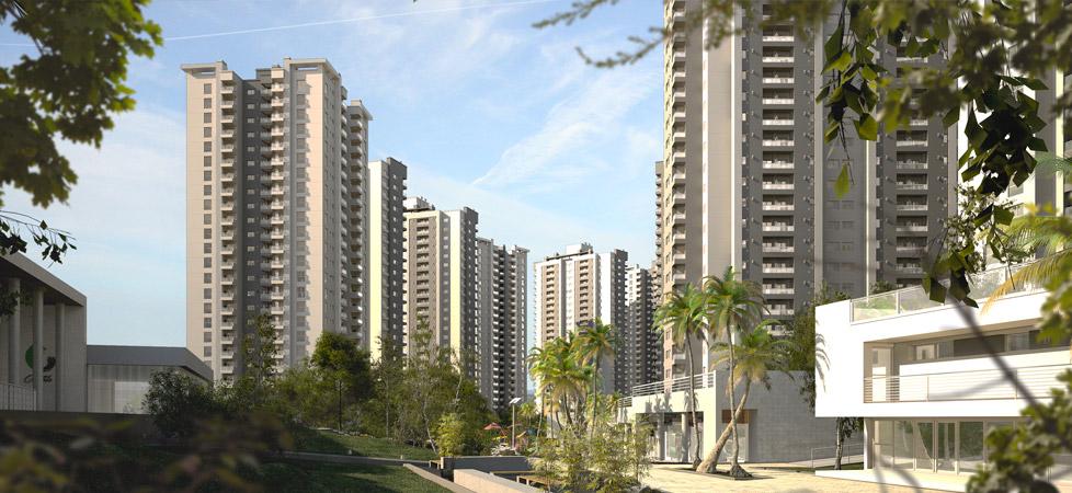 Complejo Ciudad Gama - parques