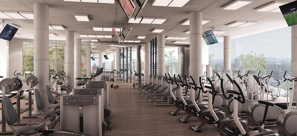 Complejo Ciudad Gama - amenities - gimnasio